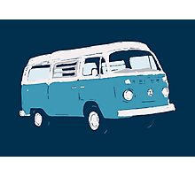 Bay Window Campervan Basic Colours (see description) Photographic Print