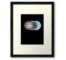 Jupiter Chrono Framed Print