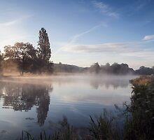 Sunrise at Mapledurham  by Jim Hellier