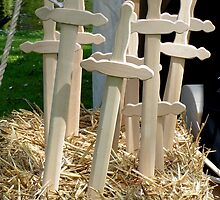 Wooden swords to realise your dream to be a knight by patjila