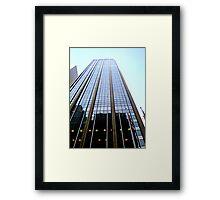 Sky Liner Framed Print
