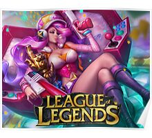 LEAGUE OF LEGENDS MISS FORTUNE Poster