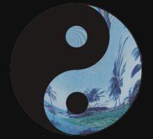 Palm Tree Yin Yang - Tumblr by Jade Bridgeman