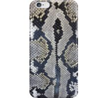 Python snake skin texture design iPhone Case/Skin
