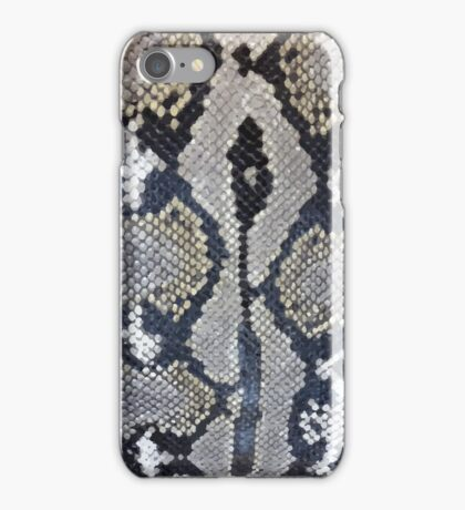 Python snake skin texture design iPhone Case/Skin