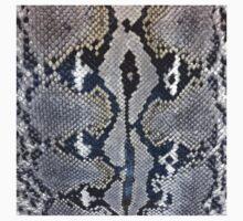 Python snake skin texture design Kids Tee