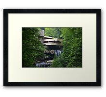 Falling Water, Pennsylvania Framed Print