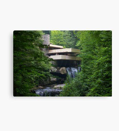 Falling Water, Pennsylvania Canvas Print