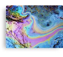 Oilspill Canvas Print