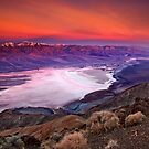 Early Dawn Over Death Valley by David Orias