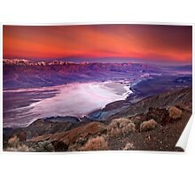 Early Dawn Over Death Valley Poster
