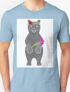 Grey bear standing T-Shirt