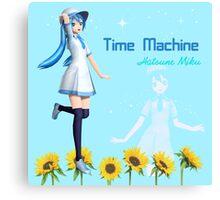 Hatsune Miku Time Machine Canvas Print