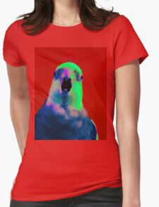 Smokey the Cockatiel  Womens Fitted T-Shirt