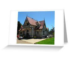 Arquitectura europea. Parque de Lota - Chile. Greeting Card