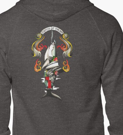 Catch of the day Zipped Hoodie