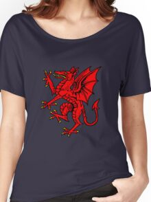 rampant dragon Women's Relaxed Fit T-Shirt