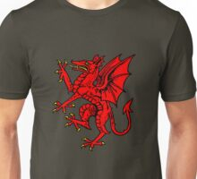 rampant dragon Unisex T-Shirt