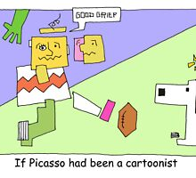 Picasso's Peanuts by Londons Times Cartoons by Rick  London