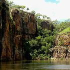 Stillness Speaks - Katherine Gorge, Nitmiluk National Park, Northern Territory, Australia by Noeline R
