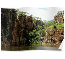 Stillness Speaks - Katherine Gorge, Nitmiluk National Park, Northern Territory, Australia Poster