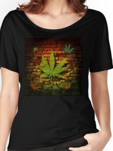 Ganja Leaf Collection Women's Relaxed Fit T-Shirt