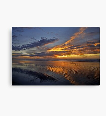 Moody Island Sunset Canvas Print