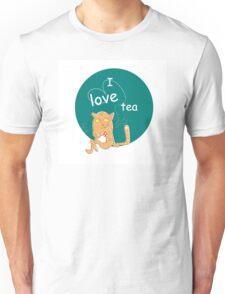 I love tea. Unisex T-Shirt