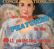 Oil Painting Group Banner #2 by Cathy Amendola