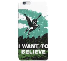 I want to believe (in unicorns) iPhone Case/Skin