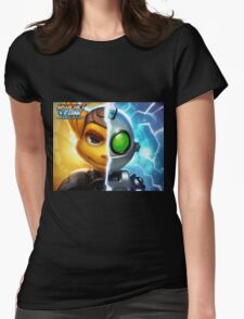 Ratchet and Clank Womens Fitted T-Shirt