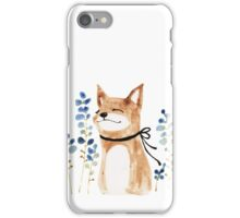 Fox and Flower iPhone Case/Skin