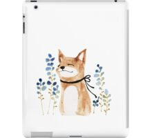 Fox and Flower iPad Case/Skin