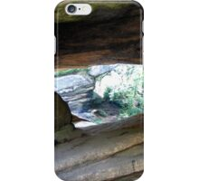 Point of view Brimham Rocks at Nidderdale  iPhone Case/Skin