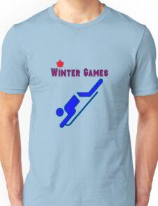 Bobsledding Unisex T-Shirt