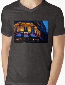 Impressions of Paris - Latin Quarter Night Life Mens V-Neck T-Shirt