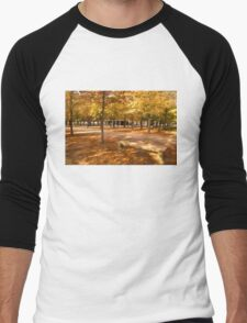 Impressions of Paris - Tuileries Garden, Come Sit a Spell Men's Baseball ¾ T-Shirt