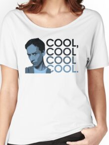 Abed - Cool, cool cool cool. Women's Relaxed Fit T-Shirt