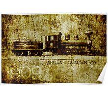 1909 Locomotive  #4 Poster