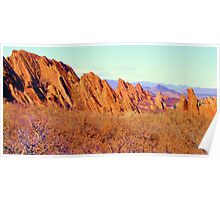 Red Rocks of Roxborough Park, Colorado Poster