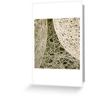 linear curves Greeting Card
