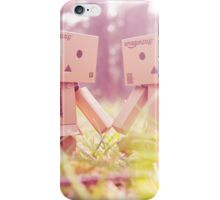Danbo in love iPhone Case/Skin