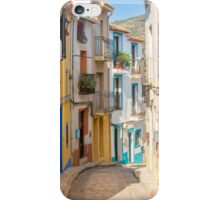 Finistrat narrow street iPhone Case/Skin