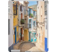 Finistrat narrow street iPad Case/Skin