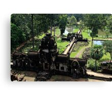 Baphuon from Above - Angkor, Cambodia. Canvas Print
