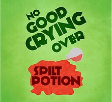 No Good Crying Over Spilt Potion by believeluna
