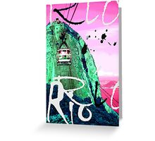 Rio Colors Greeting Card