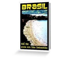 Sol na Praia Greeting Card