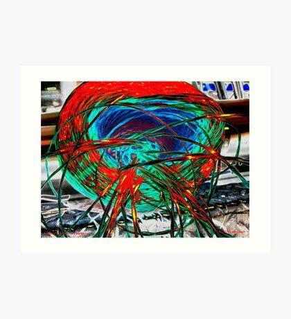 Twenty-First Century Barbwire Art Print
