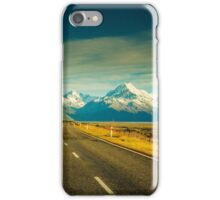 Road to Mount Cook iPhone Case/Skin